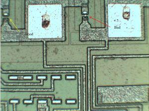 Identifying the transistors