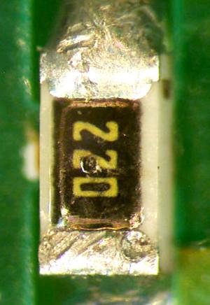 Old resistor