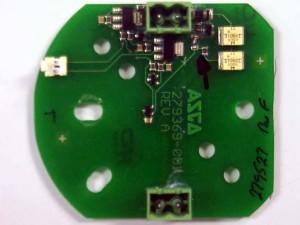 PCB in valve