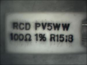 RCD 100-ohm resistor