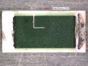 Sample 2, new resistor