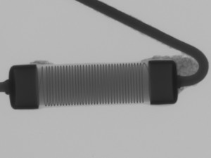 X-ray of Vichay resistor
