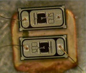 Dual SCRs as triacs