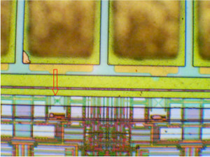 Sitronix chip with a blown I/O