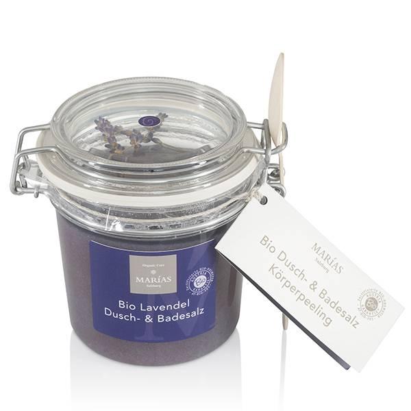 Bio Lavendel Dusch- & Badesalz Produkt