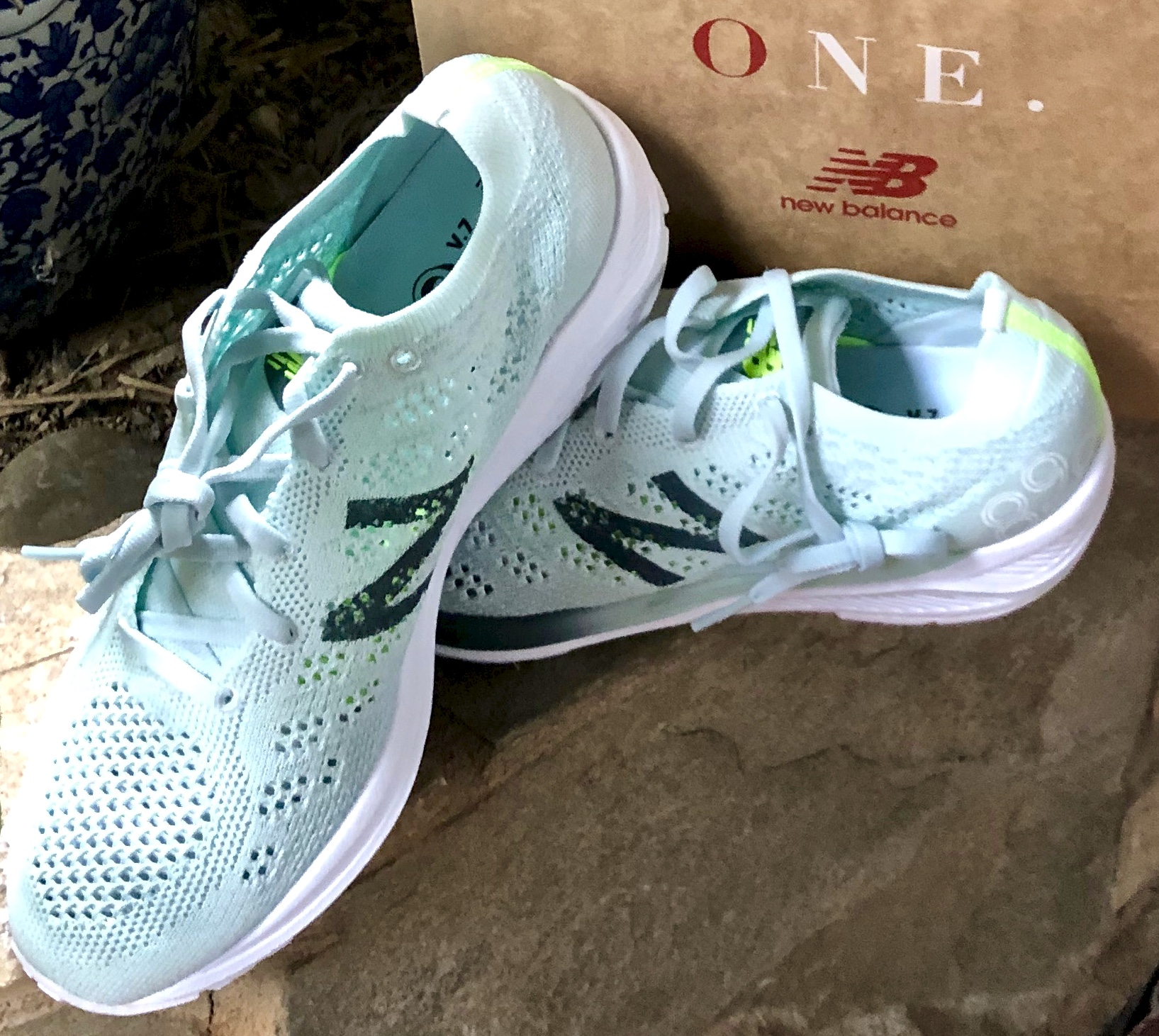 my new New Balance running shoes