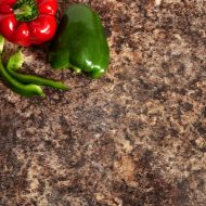 Granit Arbeitsplatte Braun
