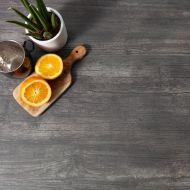 Küchenarbeitsplatte dunkles Holz