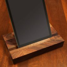 Solid Walnut iPad Stand Europe