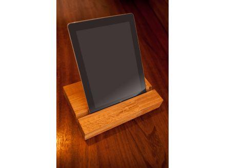 Solid Wood iPad Holder Oak