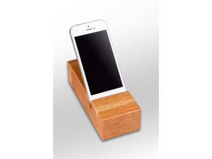 Stand alone Wood Phone Oak