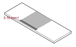 Moisture barrier installation #4