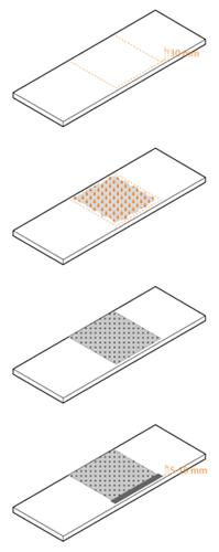 Worktop moisture barrier installation