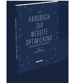 Das Handbuch zur Website-Optimierung