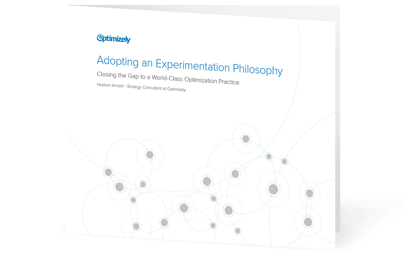 Adopting an Experimentation Philosophy
