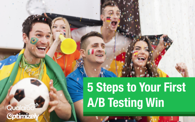 5 Steps to Your First Winning A/B Test
