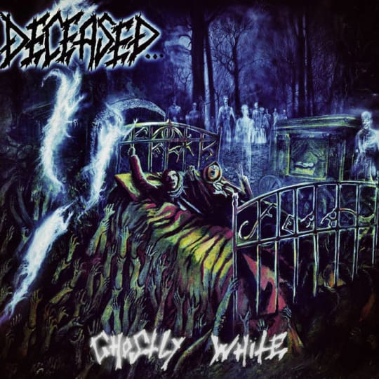 Deceased - Ghostly White