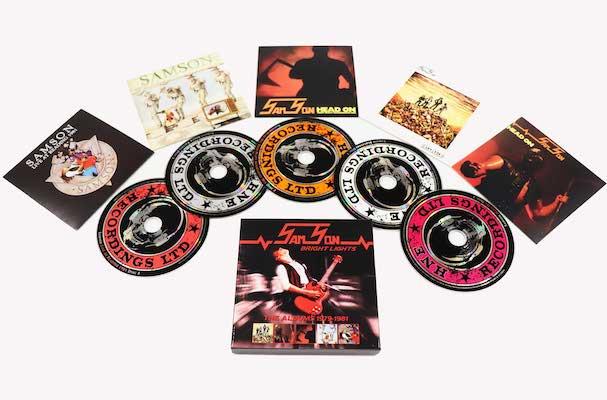 Samson – Bright Lights: The Albums 1979-1981