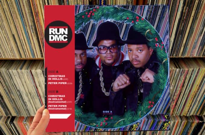 Run Dmc Christmas.Run Dmc Christmas In Hollis 12 Picture Disc Single