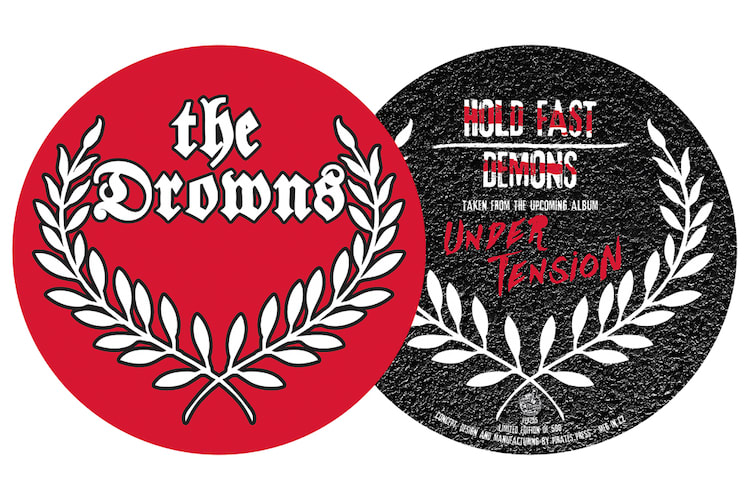 The Drowns – Under Tension digitally printed picture disc (12″ single)