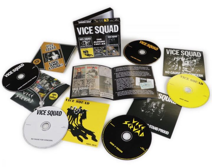 Vice Squad – The Albums 1981-84