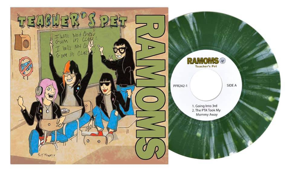 Ramoms – Teacher's Pet 7″