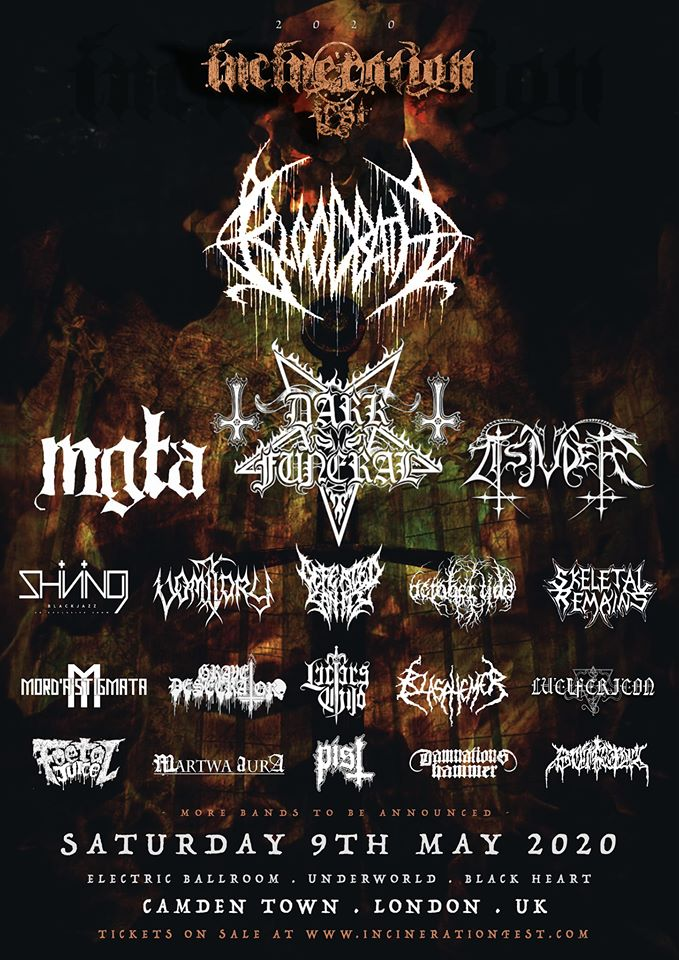 PREVIEW: Incineration Festival 2020