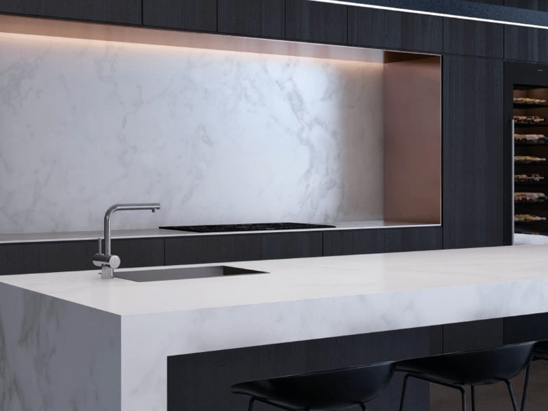 Photorealistic 3d Render of Architecturally Designed Home Kitchen from The Sanctuary Project (Thumbnail)