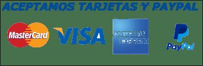 Aceptamos Pagos Con Paypal y Tarjetas de Credito y Debito