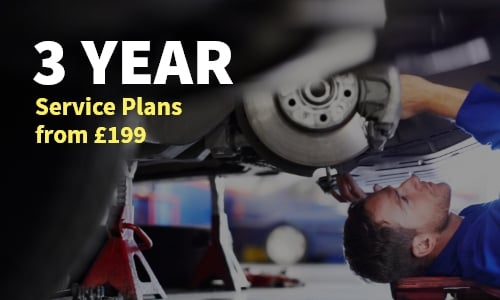 3 year service plans from £199