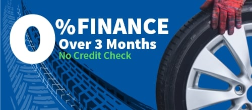 0% finance over 3 months no credit check