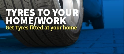 get your tyres fitted at home