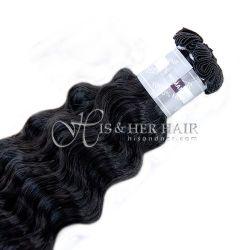 50% Italian Mink®  - Handtied Weft Water Wave