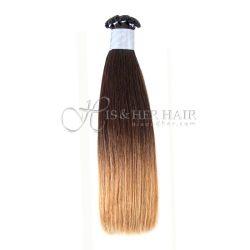 50% Italian Mink® - Handtied Weft Natural Perm Straight Ombr...