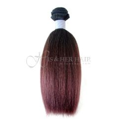 SALE - Regular - Machine Weft Kinky Straight