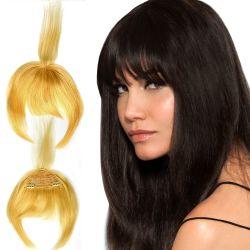 Clip-In Human Hair Bang by Hairdo
