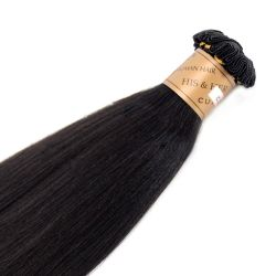 Cuticle® - Handtied Weft Natural Perm Straight