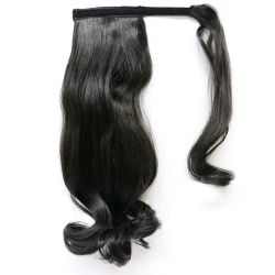 Human Hair Velcro Ponytail - Bodywave 16