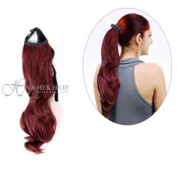 Human Hair Ponytail - Bodywave 16