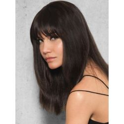Clip-In Human Hair Bang by Hairdo