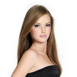 HAILEY - SILKY STRAIGHT SWISS LACE FRONT WIG (16