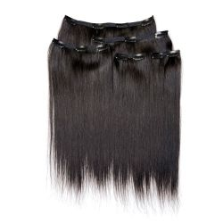 Clip Set Natural Perm Straight in 14