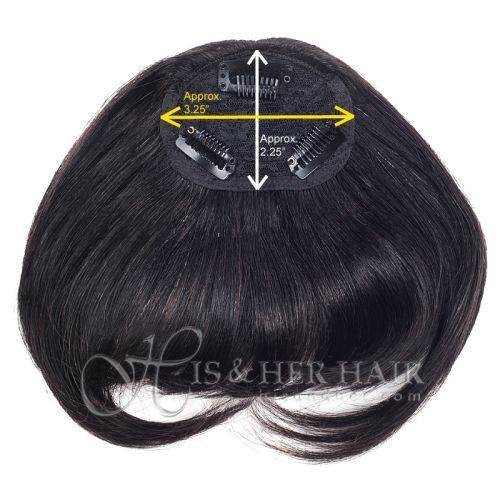 Remi Human Hair Bang by It's a Wig
