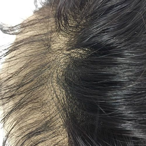 """LACE FRONTAL (13"""" x 4"""") - 16"""" KINKY STRAIGHT  WITH BABY HAIR"""