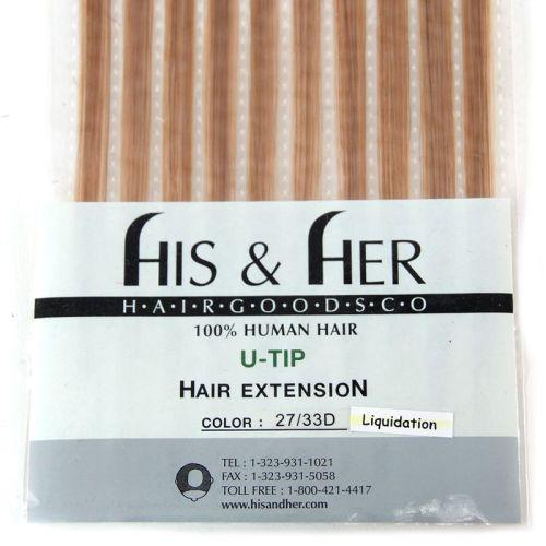 U-Tip - Silky Straight - SALE