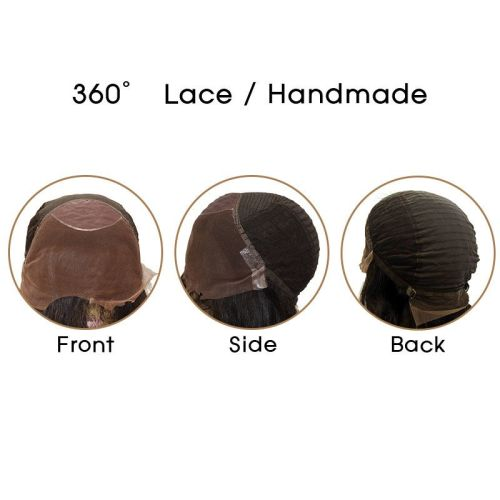 360 LACE NATURAL 22""