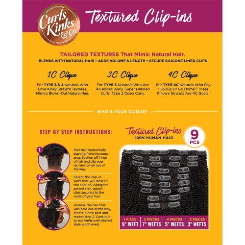 Clip Set 1C Clique - 9 Pcs.