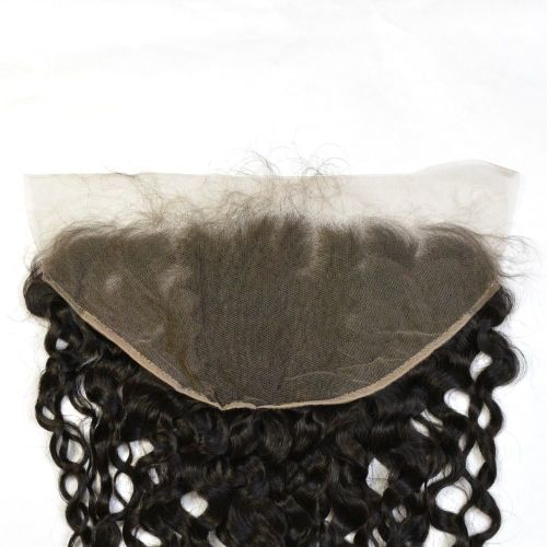 "LACE FRONTAL (13"" x 6"") - 16"" WATER WAVE WITH BABY HAIR - NEW"