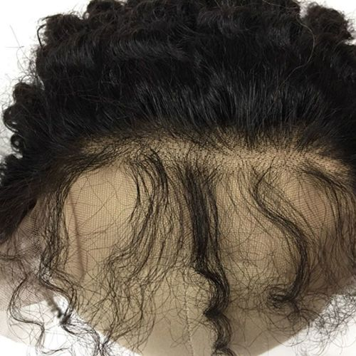 """LACE FRONTAL (13"""" x 4"""") - 16"""" YAKI WITH BABY HAIR"""