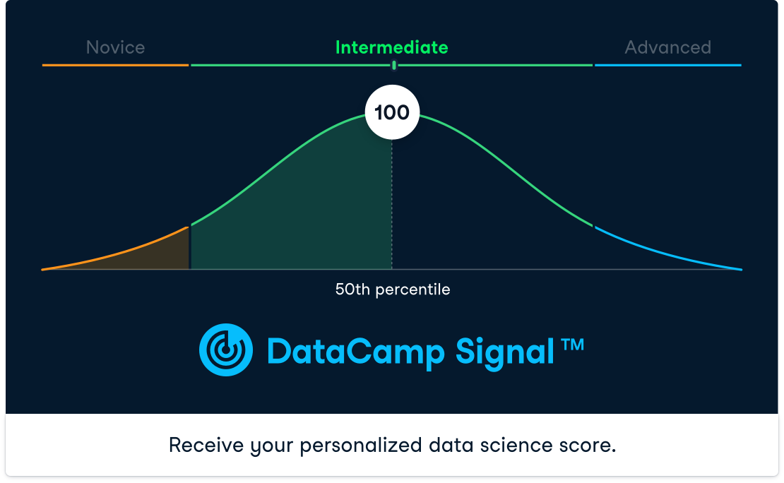 Screenshot of a 100 Signal assessment